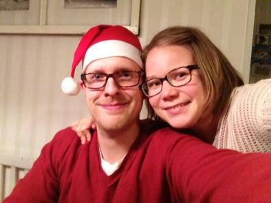 Jouluterveiset keittiöstä vaimoni Veeran vierestä.